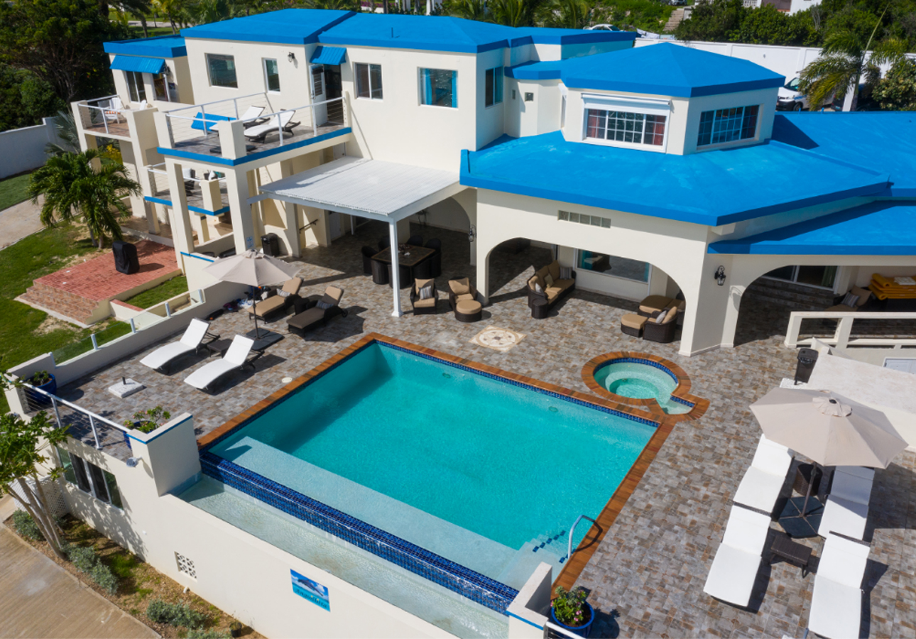 Sandy Point Beach vacation villa anguilla